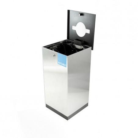 Edge recycling bin